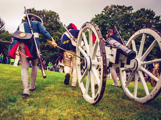 Fort Ticonderoga features re-enactors — both as British and American forces — showing how battles at the key strategic site were lost and won.