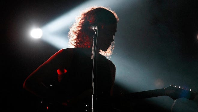 Annie Clark of St. Vincent performs at the Crescent Ballroom on Thursday, Oct. 20, 2011, in Phoenix.