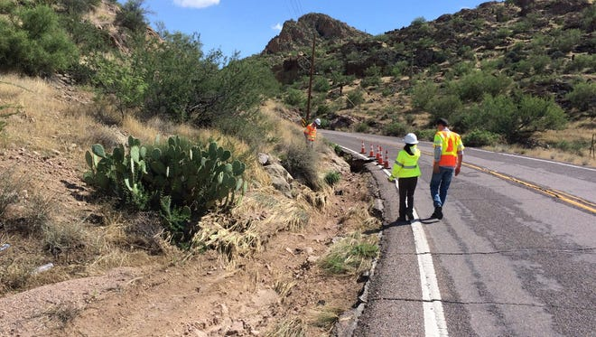 A portion of State Route 88 will be repaired over the next two months, causing periodic delays on the road, which leads to recreational lakes east of Phoenix.