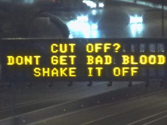 Swift ADOT sign