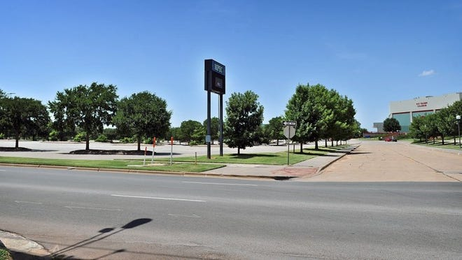 File photo - The south side of the MPEC property between Travis and Austin streets was one of the areas recommended by PKF consultants for a full-service hotel to help lure more conventions to Wichita Falls.