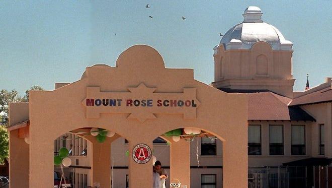 Mount Rose Elementary School is Reno.