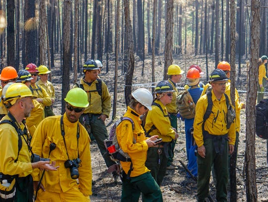 Fire researchers and managers from around the country