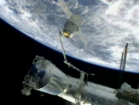 Second private spacecraft set for space station run