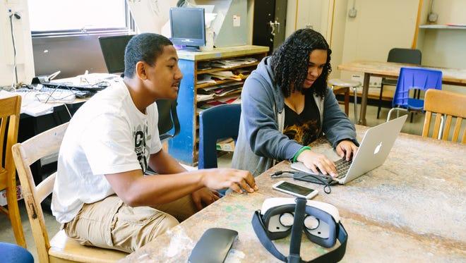 Students learn 360 filmmaking