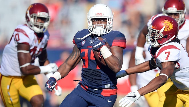 12. Arizona  (2-5, 0-4) | The Wildcats have hope coming off a bye given the return to practice of quarterbacks Anu Solomon and Brandon Dawkins.