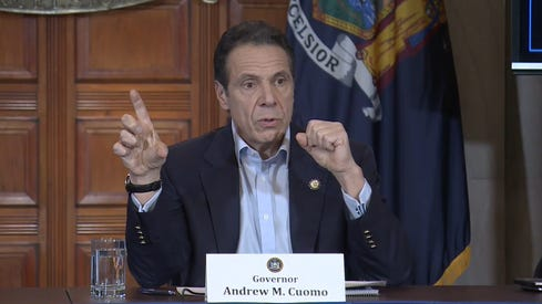 Gov. Andrew Cuomo gave an update Saturday, March 7, 2020 on the spread of the coronavirus in New York.