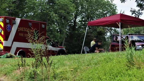 The name of the man who drowned in the Muskingum River over the weekend has been identified as 50-year-old Lee F. Kerschbaumer of Strasburg in Tuscarawas County.
