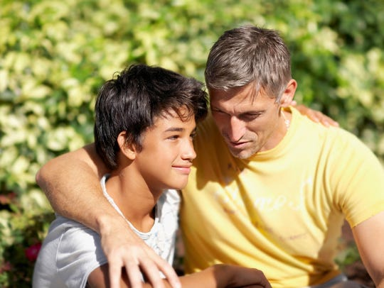 Let your kids know you're there for them. This conversation