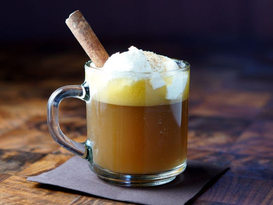 Hot Buttered Rum is comforting in cold weather.