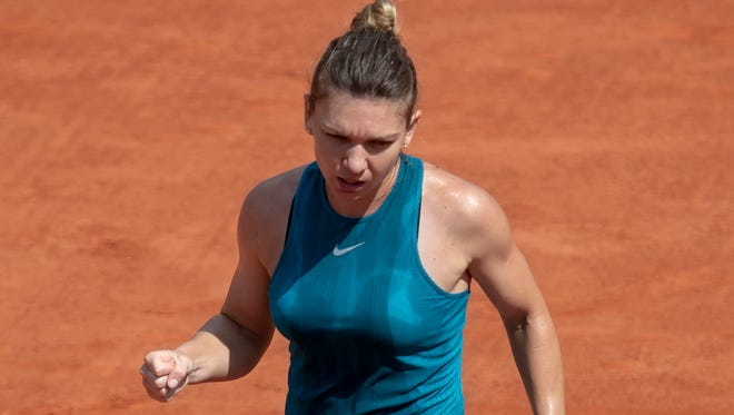 Simona Halep showed no signs of fatigue in beating wild-card entry Taylor Townsend 6-3, 6-1, despite playing on consecutive days.