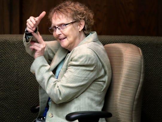 Dr. Karen Chancellor, chief medical examiner for Memphis