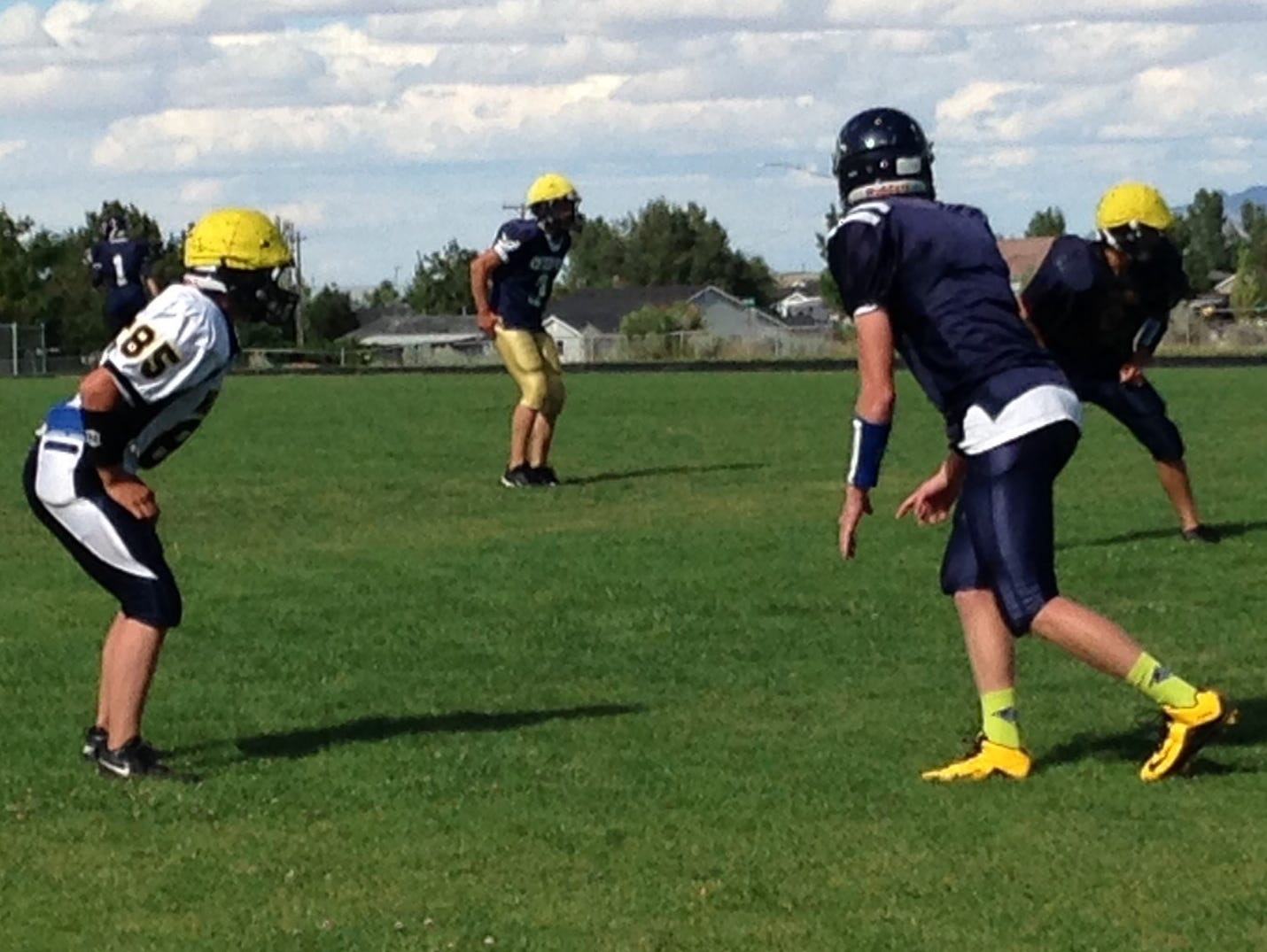 Enterprise Wolves bring in the no-huddle spread formation this season after years of running the Wing T.