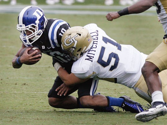 NCAA Football: Georgia Tech at Duke