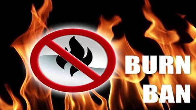 Taylor County issued a 90-day burn ban Tuesday.