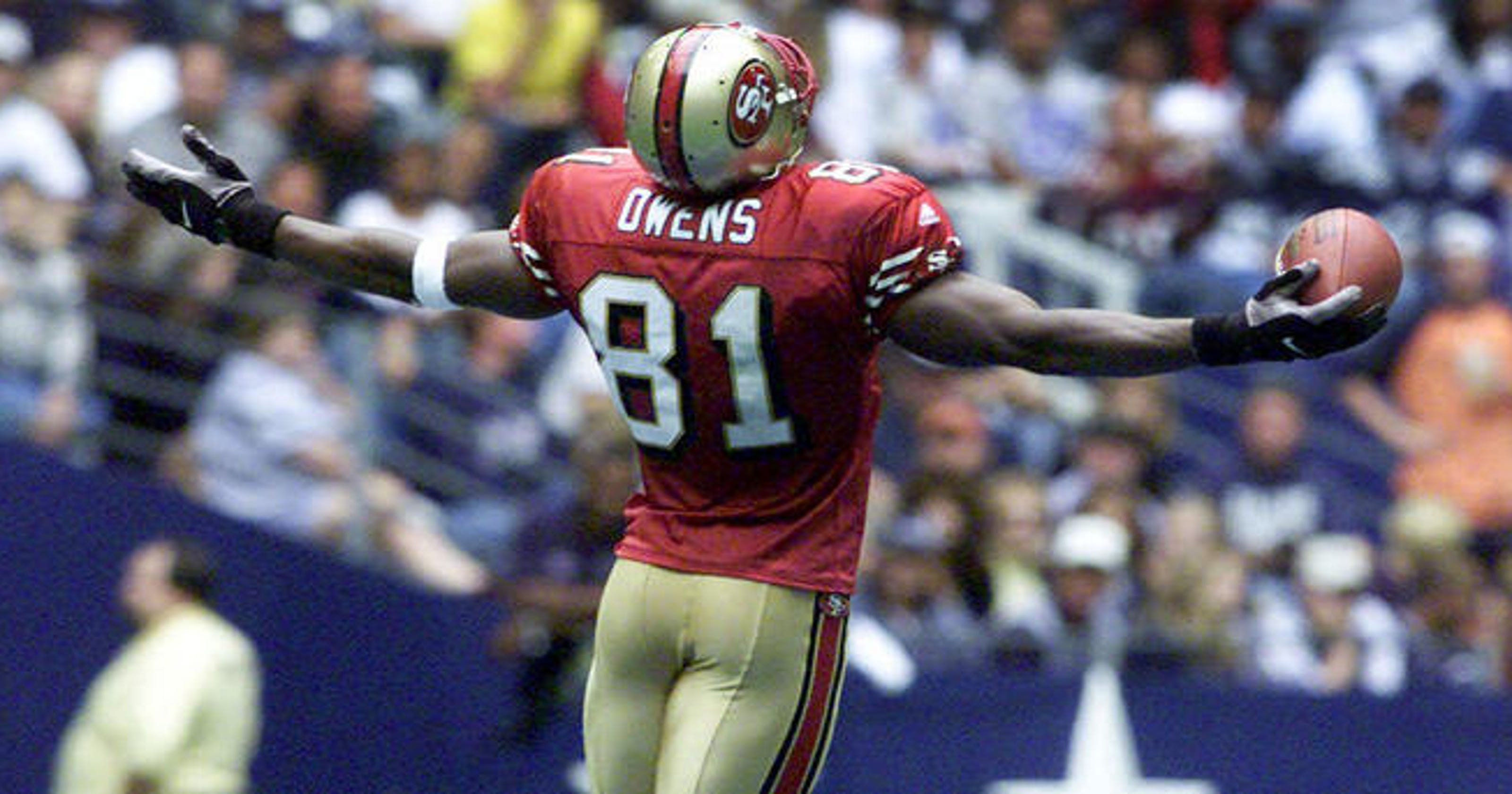 afe1d4a9d41 Rankin: Terrell Owens will miss 'golden' Pro Football HOF moment