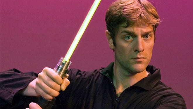 """On Dec. 11, comic Canadian actor Charles Ross will bring his zany """"One-Man Star Wars Trilogy"""" to Union County Performing Arts Center's Mainstage, 1601 Irving St., Rahway."""