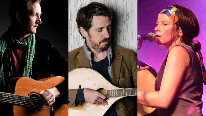 The Alt are, from left, Asheville guitarist John Doyle,bouzouki player Eamon O'Leary and singer/ bodhrán player Cathy Jordan of Dervish.