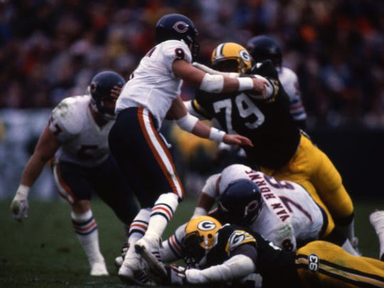 Green Bay Packers defensive tackle Donnie Humphrey