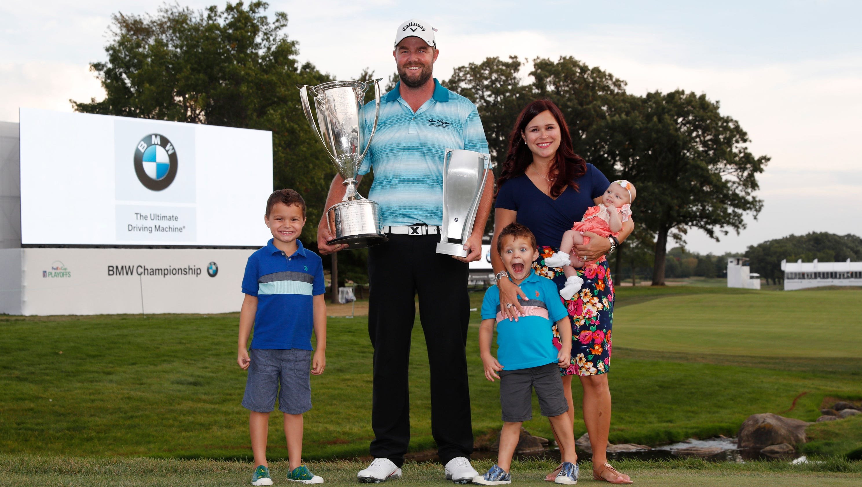 Marc Leishman wins BMW Championship