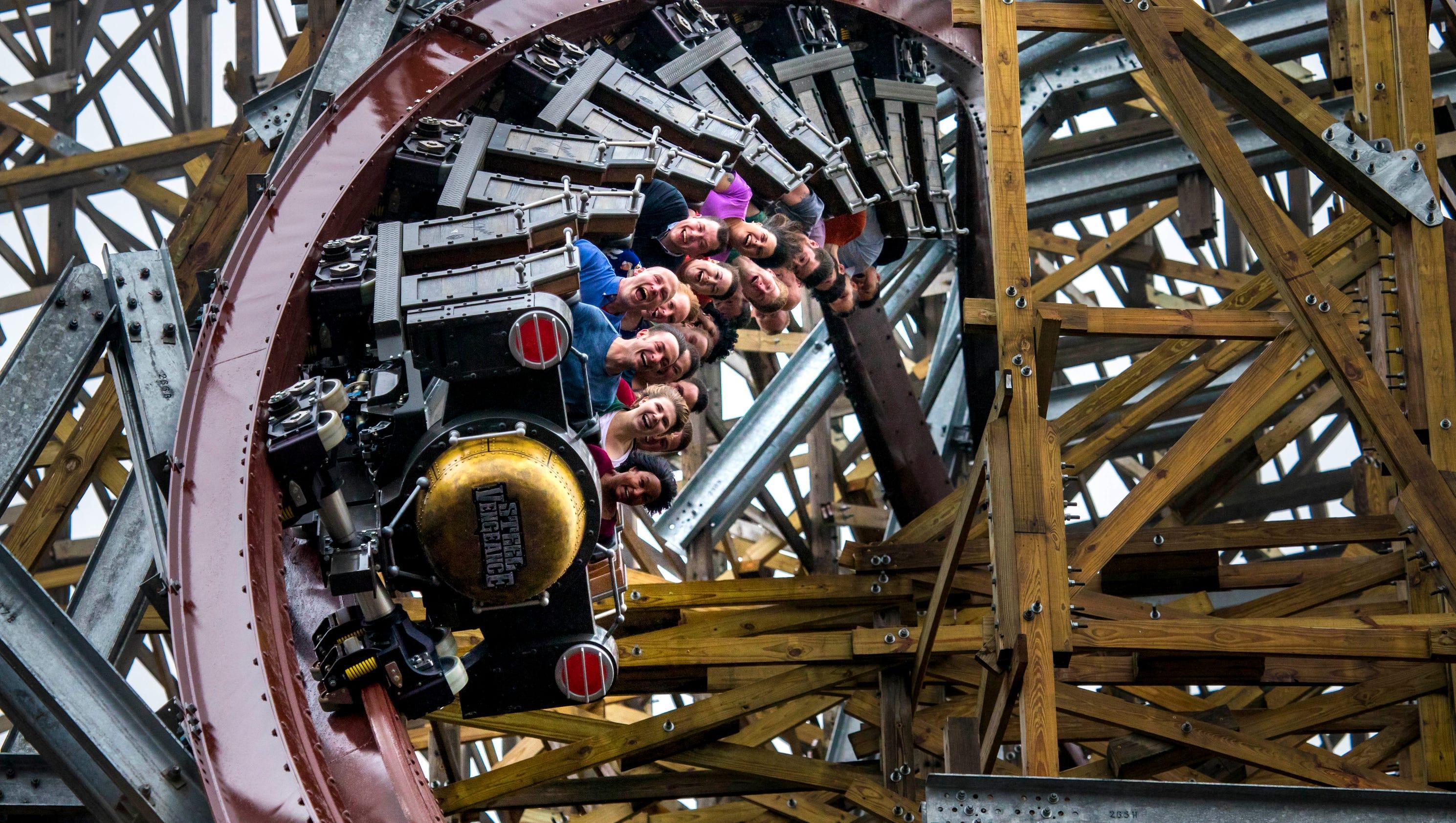 Cedar Point's new Steel Vengeance coaster adds metal to