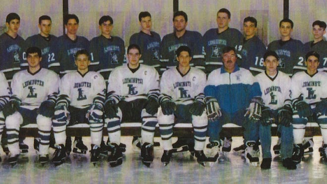 The 1996-97 State Finalist Hockey Team.