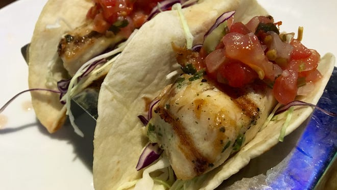 Mahi tacos from Duffy's Sports Grill in south Fort Myers.