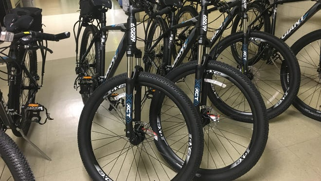 Hattiesburg police recently purchased six new bicycles for its patrol officers.