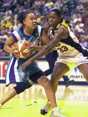 Dawn Staley from 2002, with the WNBA's Charlotte Sting,