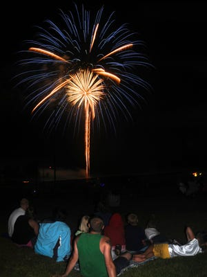 Galion fireworks show at Heise Park.