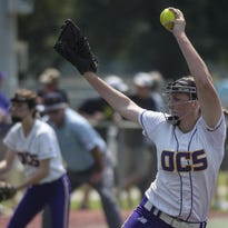 Opelousas Catholic pitcher Tori Collins was chosen as a first team pitcher on the 5-2 All-District team.