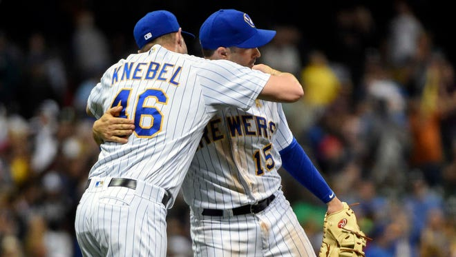 Corey Knebel is one of the top young Brewers making a modest salary, and first baseman Neil Walker is a solid midseason addition whose salary isn't entirely the club's responsibility.