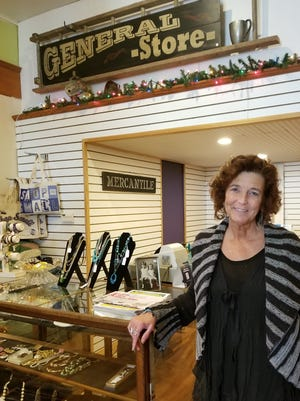 Jackie Nelson-O'Boyle stands in her new space at 171 S. Main St.