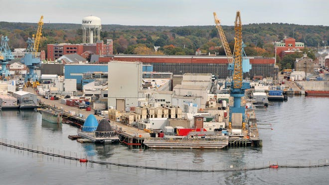 The Portsmouth Naval Shipyard on Seavey Island in Kittery.