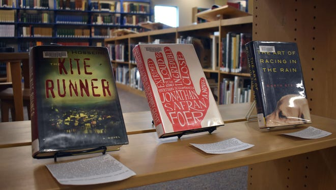 A display of challenged books has been set up at the Alamogordo Public Library in recognition of Banned Books Week 2017.