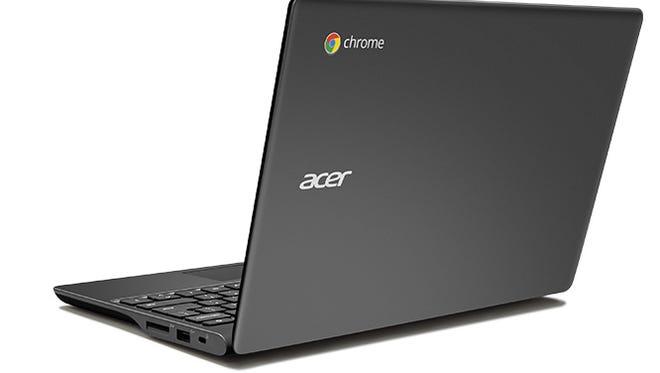 ACER laptop computer taken from Bossier Elementary
