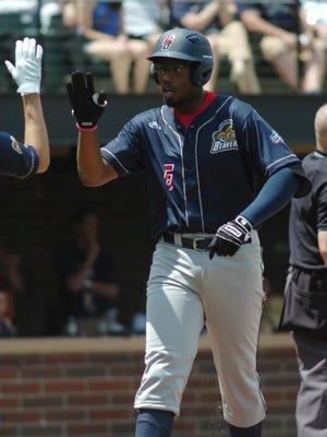 Beavers first baseman Nic Wilson hit a second inning home run.