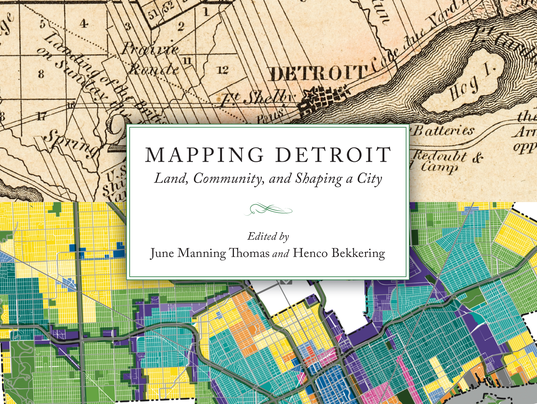 Mapping Detroit book cover