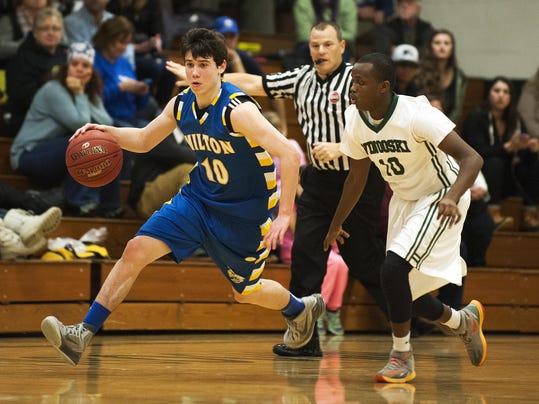 Milton vs. Winooski Boys Basketball 12/29/15