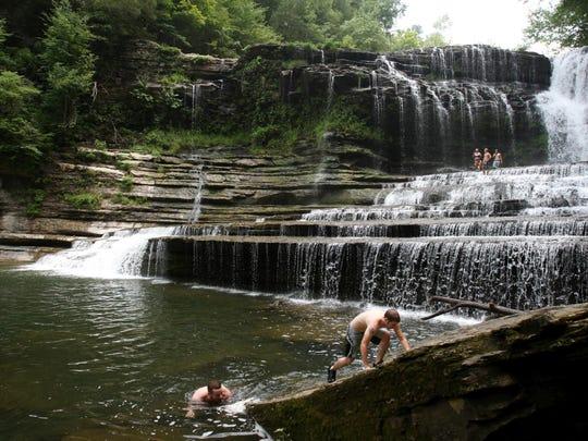 Cummins Falls near Cookeville