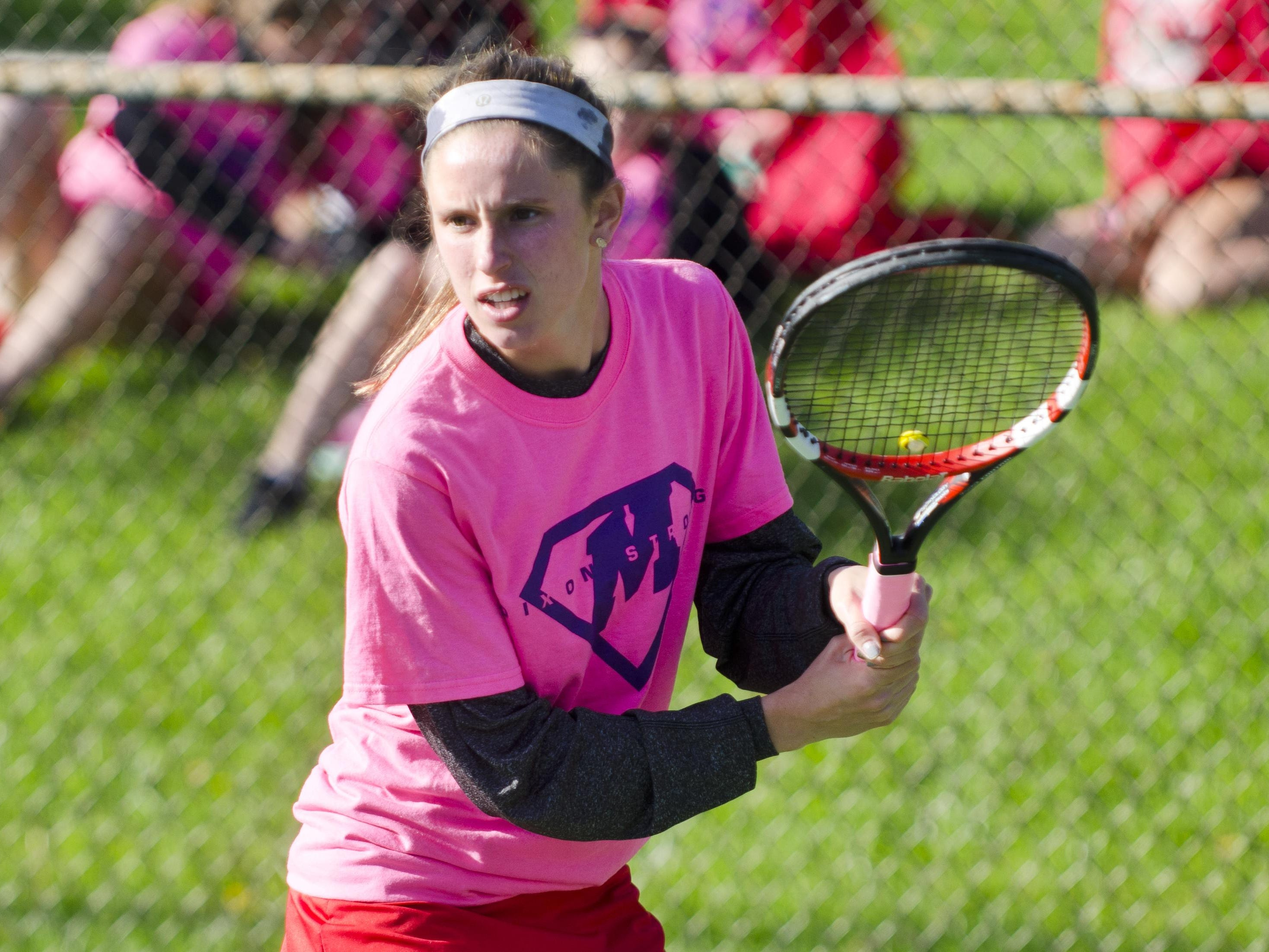 Manitowoc senior Bailey Budnik was named the FRCC girls tennis player of the year this season.