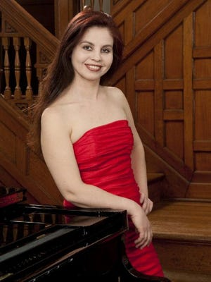 Pianist Elana Ulyanova appears with the Las Cruces Symphony Orchestra at performances at 7:30 p.m. Saturday and 3 p.m. Sunday at New Mexico State University's Atkinson Recital Hall.