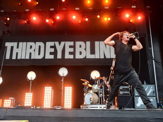 Stephan Jenkins will perform with Third Eye Blind June 30 at the Farm Bureau Insurance Lawn at White River State Park.