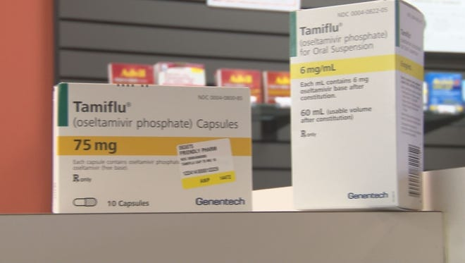Local pharmacies are reporting a shortage of Tamiflu, a drug used to fight the flu in patients.