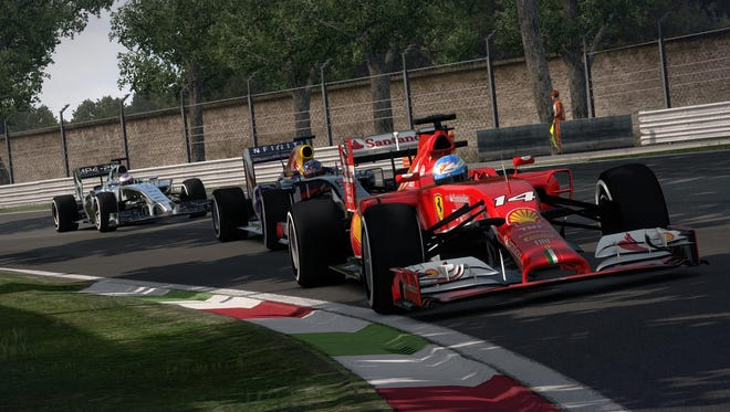 "New aerodynamics and turbo-charged engines enter the fray in ""F1 2014."""