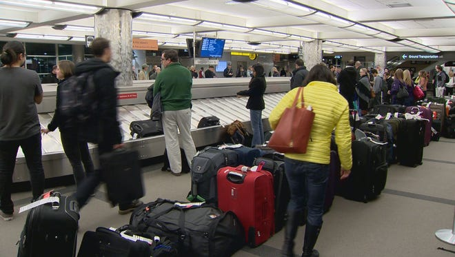 United Airlines' baggage mess at Denver International Airport continues.