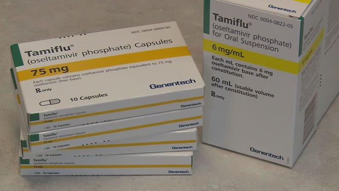 Tamiflu is an antiviral medication and in essence, it binds to the flu virus and stops it from reproducing.