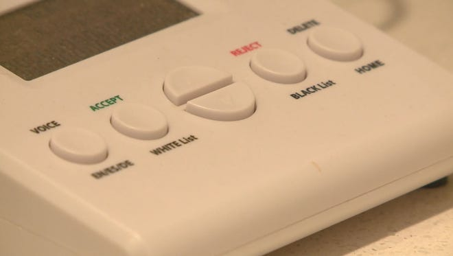 Some Hamilton County residents received a threatening robocall on Sunday.