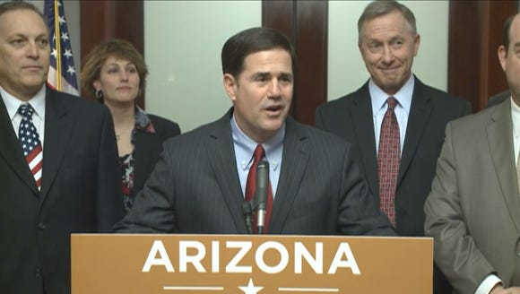Gov. Doug Ducey announces a $2 billion Apple facility