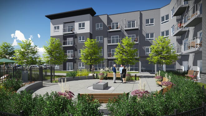 Lake Shore Apartments would feature 85 units near First Street in Ankeny.